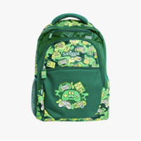Smiggle Backpack Tas Ransel Anak SD Hijau Games Soccer Bola Original
