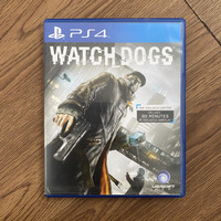 Kaset PS4 PS 4 Watchdogs