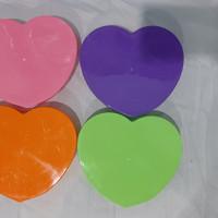 Toples Makanan LOVE / Kotak Makan Plastik / Lunch Box Ompren Plastik
