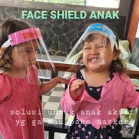 Face shield anak pelindung wajah