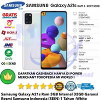 Samsung Galaxy A21s 3GB/32GB A 21s 3/32gb A21 s 3/32-Resmi-Sein-White