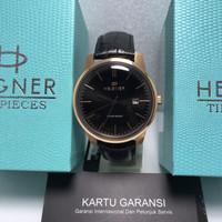 jam tangan pria Hegner Timepieces HW 1637 G black original