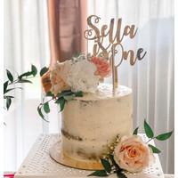Custom Nama Cake Topper Baby Birthday