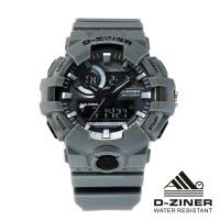 Jam tangan D-ziner 8189 water resistan original 100%