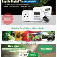Thermostat pengatur suhu digital tetas inkubator otomatis nomoypet