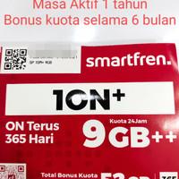 Kartu Perdana Smartfren ION+ 1ON+10N+1ON+ Aktif 9GB