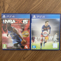 Kaset PS4 PS 4 NBA2K15 + FIFA16