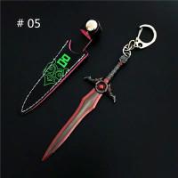 Gantungan Kunci Anime Pedang King Glory/Gantungan kunci model Pedang