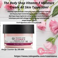 (50 ml) The Body Shop Vitamin E Moisture Cream All Skin Types 50ml