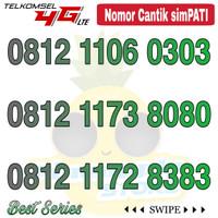 Nomor Cantik Simpati telkomsel 4G LTE seri 0812 abab