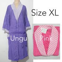 Handuk kimono motif garis jumbo