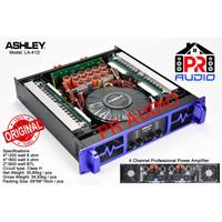 Power Amplifier ASHLEY LA-412i / LA412i / LA 412i ORIGINAL 4 Channel !