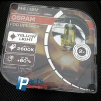 Bohlam Bolam Lampu Utama Kuning OSRAM H4 FBR Fog Breaker 12V 60/55W