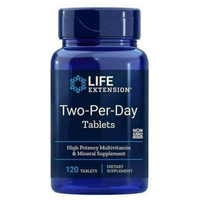 life extension two per day multivitamin 120 tabs