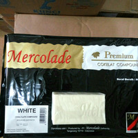 mercolade white coklat compound repack 500gr coklat putih