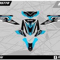 decal matic mio sporty stiker