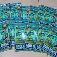 masker umask masker 3play earloop/jastip masker penutup mulut