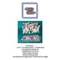 Sarung Bantal Kursi/Sofa 40x40 cm