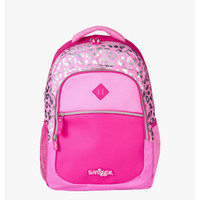 Smiggle Backpack Bag Far Flow Express Tas Ransel Anak Pink Original