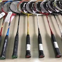 Badminton raket Bonus senar tas pegangan kain lining praven jordan