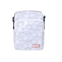 Miniso Marvel Crossbody Bag Fashion Tas Selempang - White Marvel