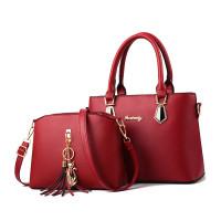 (COD) Handbag Import 2in1 FO6028 Free Tas Selempang Tas Top Handle