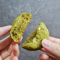 Green tea cookies with White Chocolate