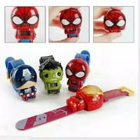 Jam Tangan Anak Spiderman Robot Kecil Penjet