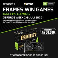 PALIT GTX 1660 SUPER GP GAMINGPRO OC 6GB GDDR6