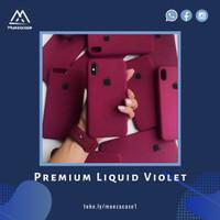 Casing Soft Case iPhone 6 6 Plus Premium Liquid Violet