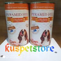 Makanan Anjing Basah- Dogfood Kaleng Pyramid Chicken 1.2kg