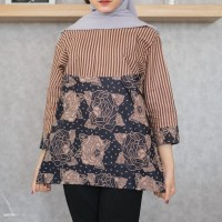 blouse batik casual