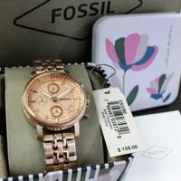 Jam Tangan Wanita Fossil ES-3380 Rose Gold