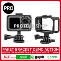 ✅ PAKET CAGE CASE BRACKET SHELL FRAME DJI Osmo Action MOUNT SEKRUP