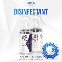 Sanitizer (Disinfectant) AQTIC 500ml Spray ( Ethanol 80% Food Grade )