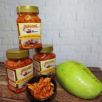 SAMBAL MANGGA MUDA 220 GRAM ENAK