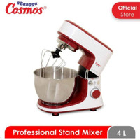 Cosmos Professional Stand Mixer 600 Watt 6L Blade Dough Hook Whisk