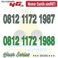 Nomor Cantik Simpati telkomsel 4G LTE seri Tahun 1980an