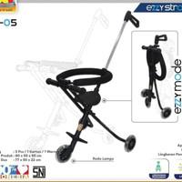 Ezzy Baby Stroller Roda 3 Portable Kursi Dorong Bayi Lipat Kereta Anak