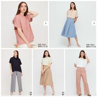 uni*lo shortsleeve shanghai kra rayon blouse