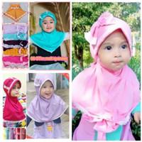 hijab anak pita jilbab bayi instan kerudung anak