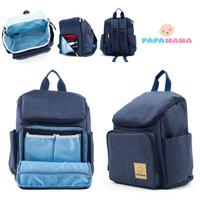 Papamama Diaper Bag Ransel - Tas Ransel Diaper Bag Pack