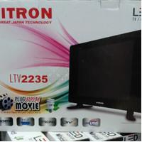 LED TV 22inch VITRON USB Movie