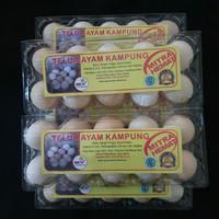 Telur Ayam Kampung Arab 10 pcs
