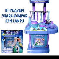 GROSIR mainan dapur dapuran frozen /anak perempuan/kitchen frozen