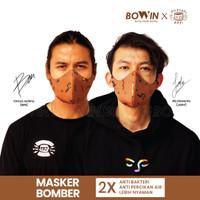 BowinxFilosofi Kopi Masker Bomber Limited