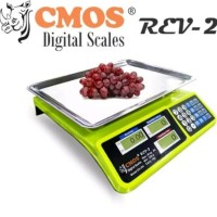 TIMBANGAN DIGITAL SCALE 30kg CMOS RCV 2 DS 30K