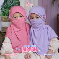 Kerudung Masker Anak 3 Tahun Jilbab Anak AISYAH Miulan Original