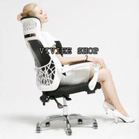 kursi kantor kursi gaming offiche chair bahan jaring - jaring 802
