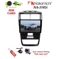 "NAKAMICHI NA-3102i Android 9"" NEW AVANZA 2019 Head Unit Double Din+Cam"